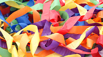 Paper Streamers Supplies
